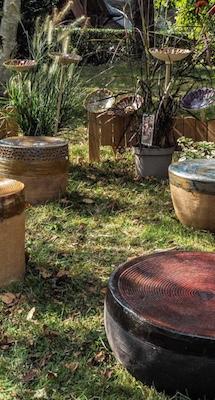 Poufs et mobilier de jardin